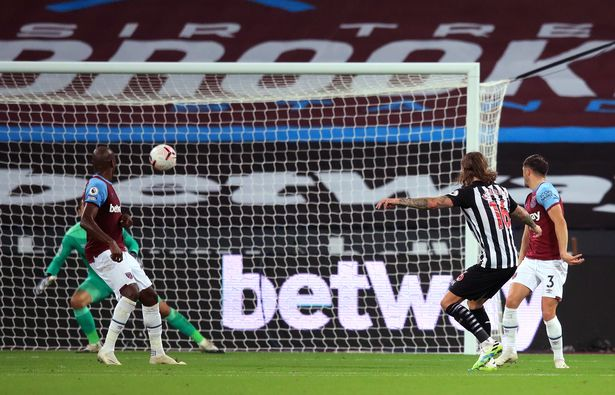 Вест Хэм 0-2 Ньюкасл